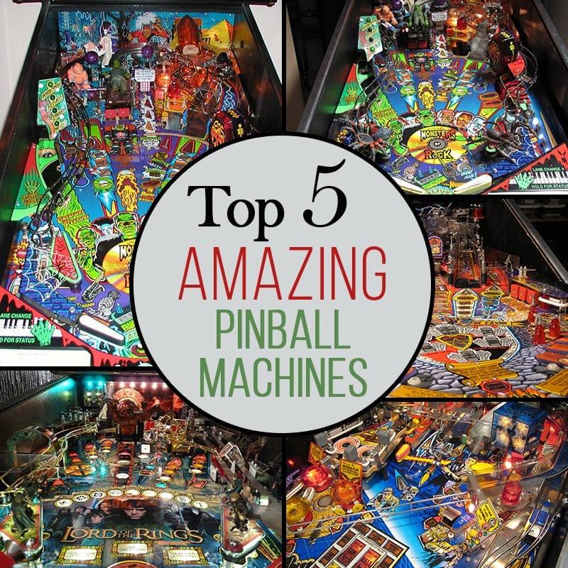 Top 5 Amazing Pinball Machines | Blog | Pinball Machines for