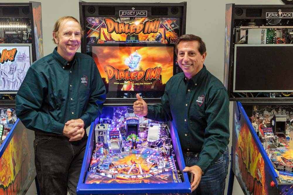Pinball designer Pat Lawlor talks Dialed In.