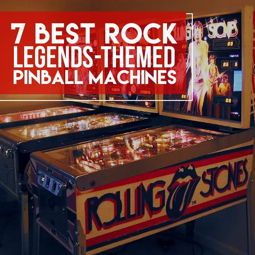 Best Rock Legends themed Pinball Machines