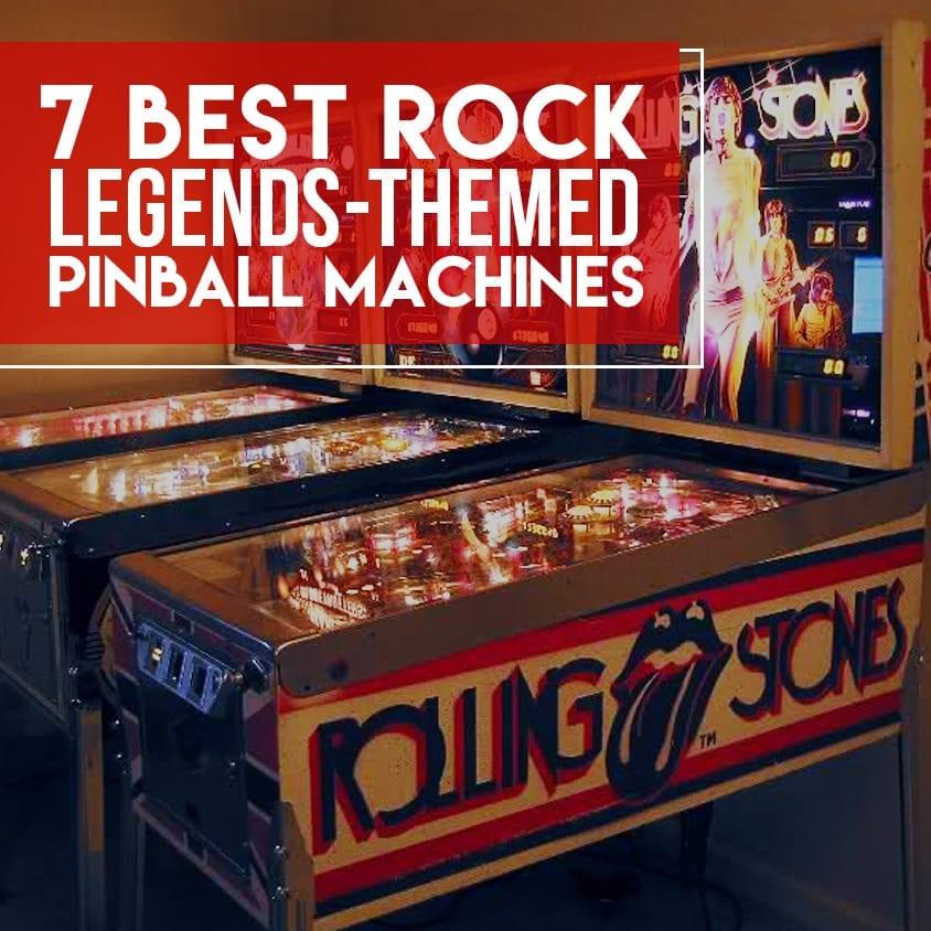 Best Rock Legends themed Pinball Machines